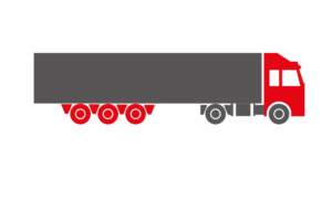 Truck & trailer <br>(semi-trailer / road train)